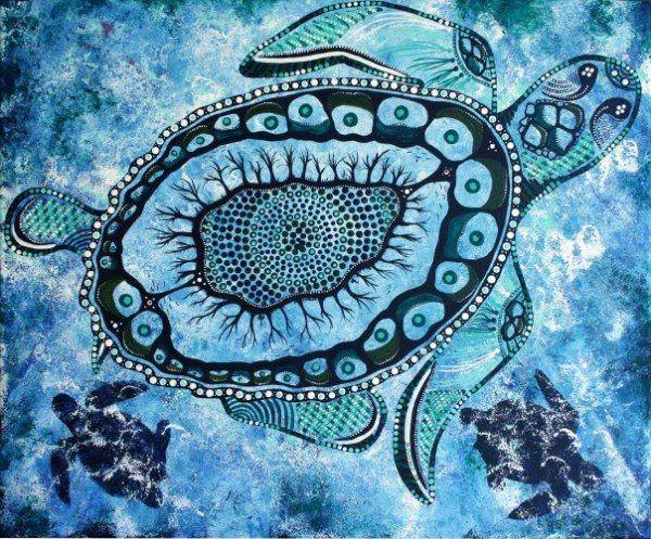 Danielle Burford, Australia – Aboriginal painting
