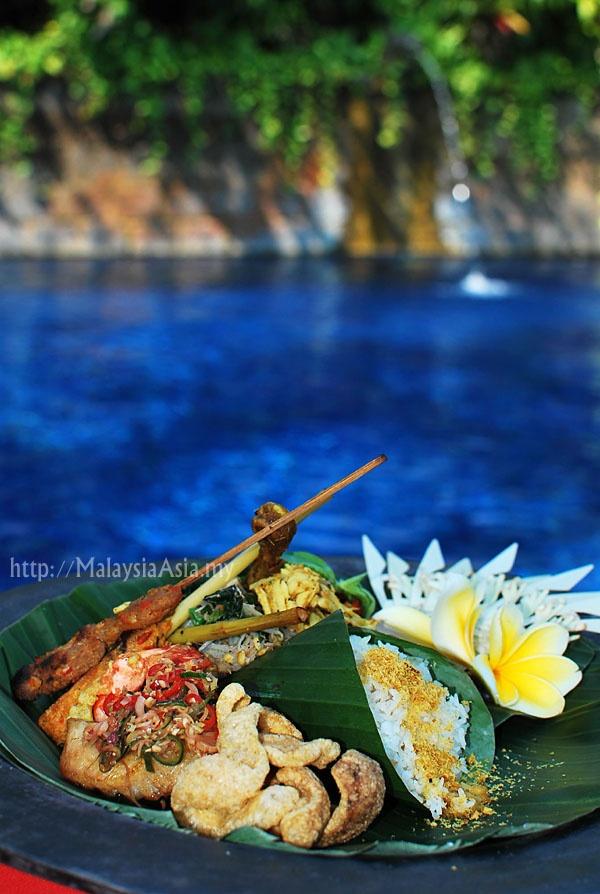 Indonesian Food at Hotel Tugu Bali