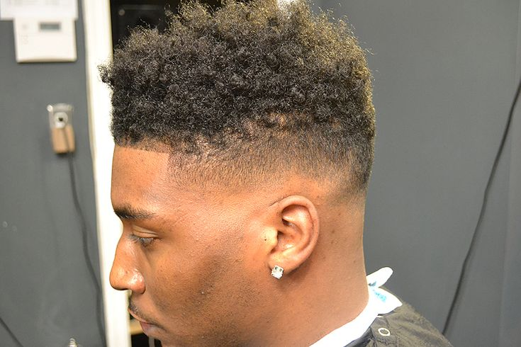 Curly high top fade | nappy tapper | Pinterest | High tops ...
