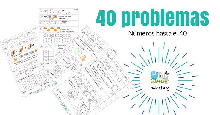 Los siguientes problemasy ejercicios de matemáticas están pensado para 1º de primaria, ayudarán a los niños de entre seis y siete años a resolver problemas