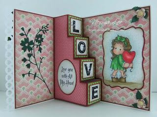 "From My Craft Room: Template for a 4-Step Card (6"" x 6"")"