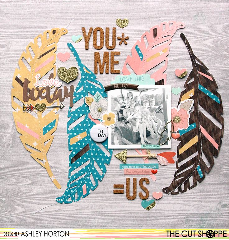 You + Me = Us - Scrapbook.com