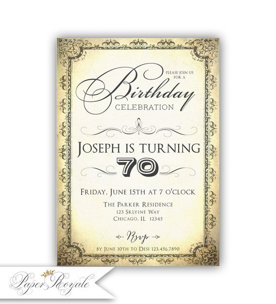 70th birthday invitations printable 70th birthday invites male 70th birthday invitations printable 70th birthday invites male birthday party sophistacted seventy mens filmwisefo