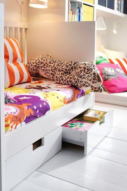 Ikea Day Bed - Kids' Bedroom Ideas - Childrens Room, Decorating (houseandgarden.co.uk)
