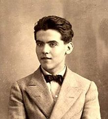 Federico García Lorca - Spanish poet, dramatist...murdered by Fascists (age 38). Frequented same literary circles as Girondo in Argentina.