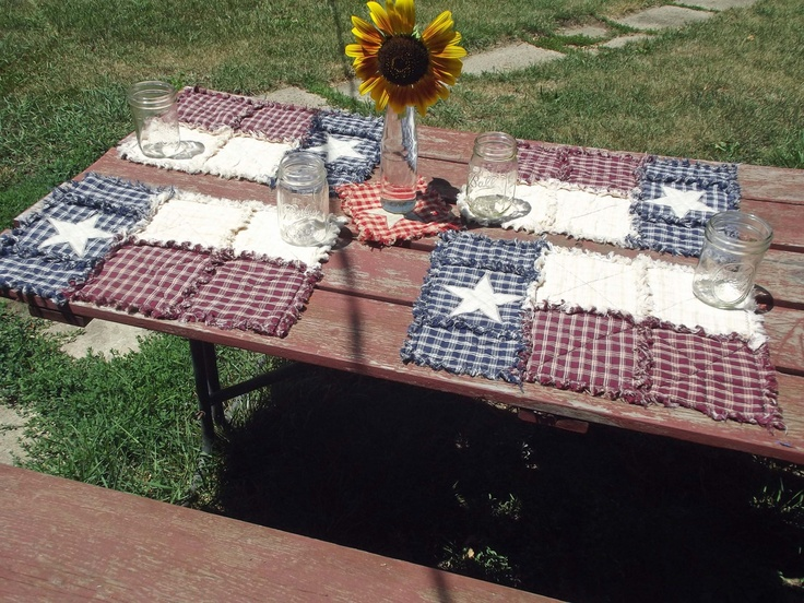 Texas Flag Placemats by TheLaughingBlackbird on Etsy, $12.50