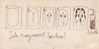 Robert Romanowicz illustration: O tym jak narysować Zenka