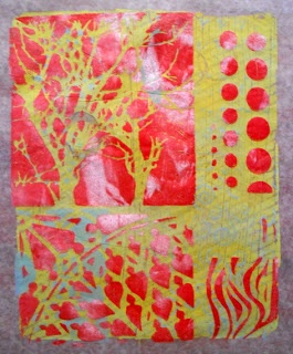 Gelli Mono Prints | Adventures With Paint
