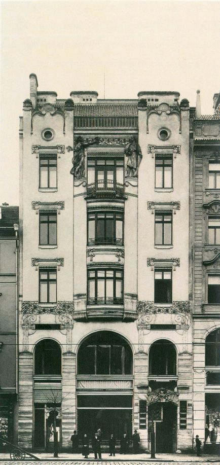 Peterkův dům Praha