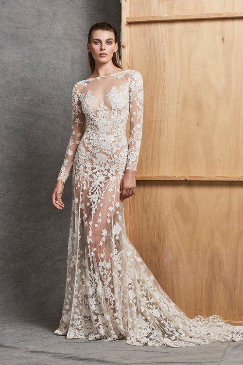 los 50 vestidos de novia para mujeres delgadas más espectaculares