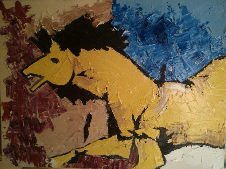 One Upmanship: Corporate Art Series--Oil on Canvas. www.ovijiet.com