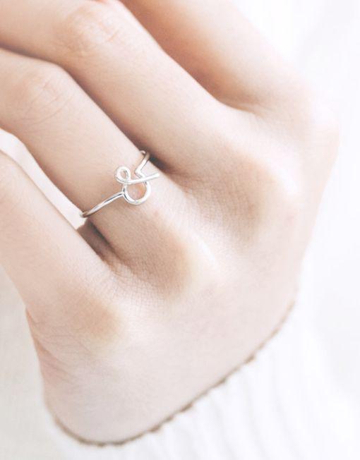 7,50€ - AMPERSAND RING | SRTALAURIS, jewelry&design