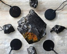 Black Obsidian and Black Tourmaline are great protection crystals! Place pieces anywhere in your home to ensure protection and absortion of negative energy.