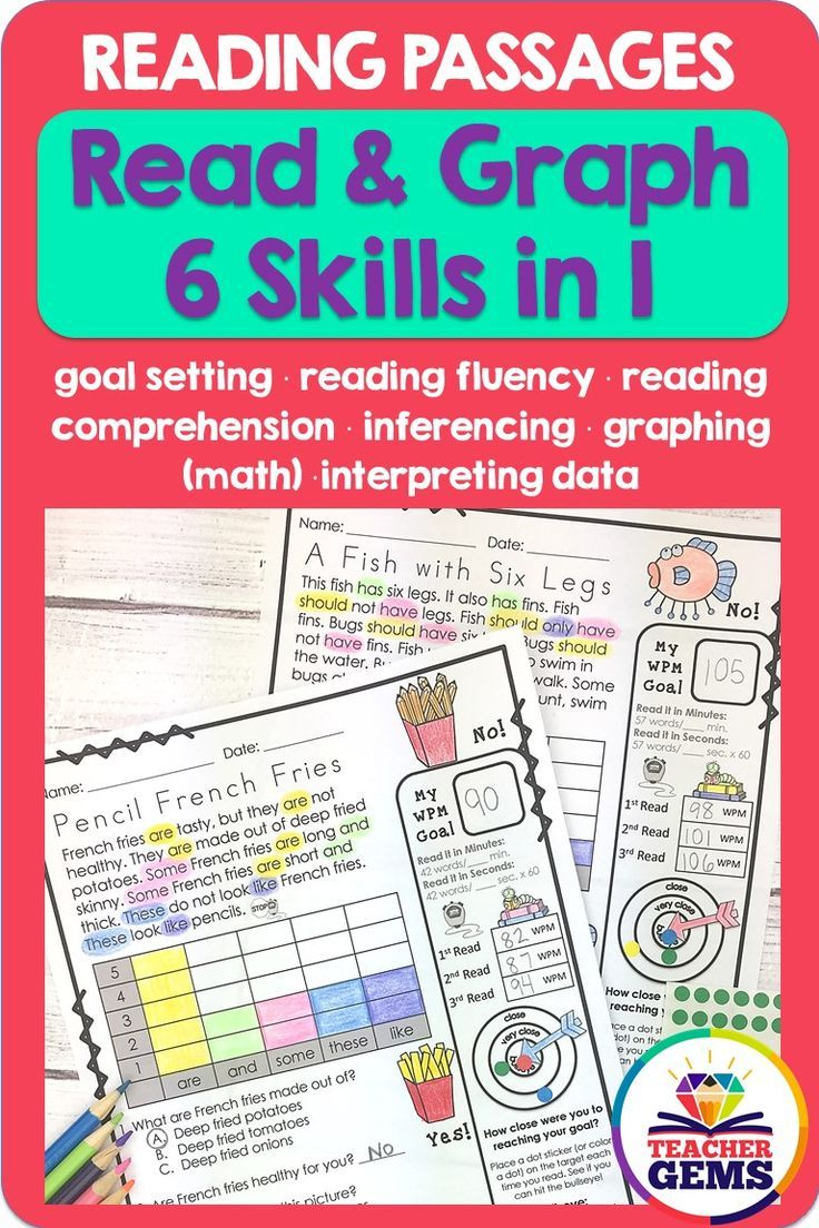 My Set 2 Read Graph Reading Passage Worksheets With A Mix Of Fiction And Non Fiction Great Literac Reading Passages Language Arts Elementary Reading Fluency