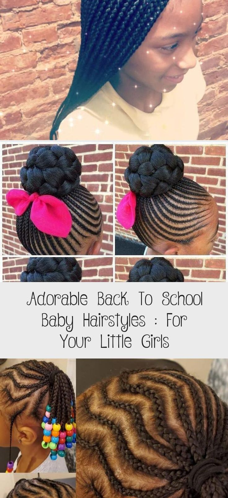 Adorable Back To School Baby Hairstyles : For Your Little Girls #Baldbabyhairstyles #babyhairstylesForParty #babyhairstylesWithBeads #babyhairstylesIndian #Littlebabyhairstyles