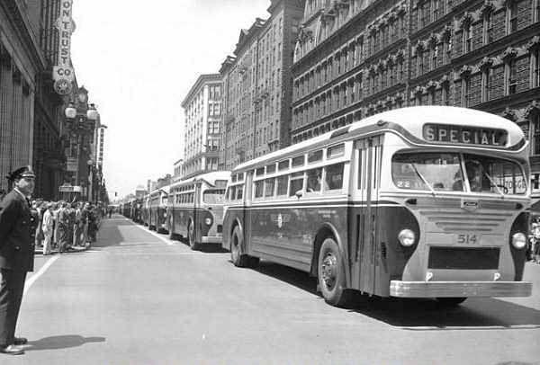 JOJ 252 in Cotteridge | Birmingham City Transport 1950 ... |Photos Old City Buses 1950