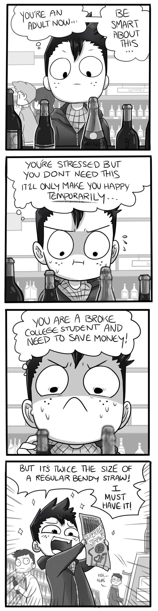 Mondo Mango :: Shopping | Tapastic Comics - image 1~I have a feeling that I'll grow up like this XD