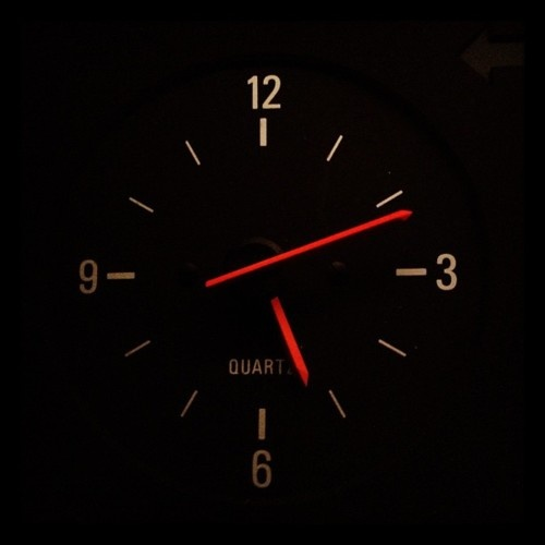 My very first car (a Volvo) had this exact analog clock in it.  Good memories.