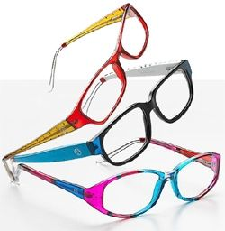 oh how we looove these hand painted frames matisse eyewear