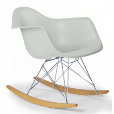 Chaise a bascule r tro lounge loisir inspiration eames for Chaise a bascule bebe