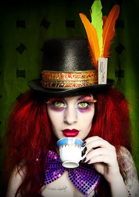 The Mad Hatter by María Lawliet, via Flickr