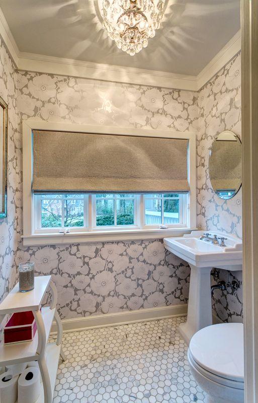 Powder bath : Summit / NJ / Residence - rinaldi interiors