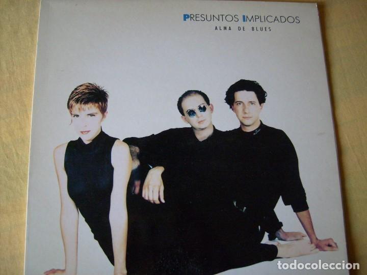 PRESUNTOS IMPLICADOS ALMA DE BLUES 1989 WEA