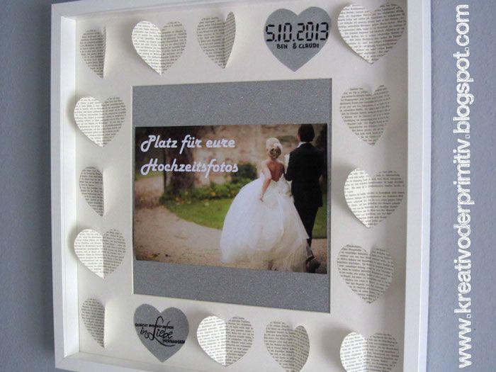 ... basteln kreativ Geld handmade selfmade DIY Hochzeit idee i