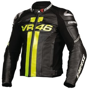 Dainese Valentino Rossi VR46 Leather Jacket