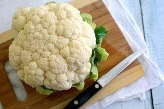 Сливочный соус из  цветной капусты