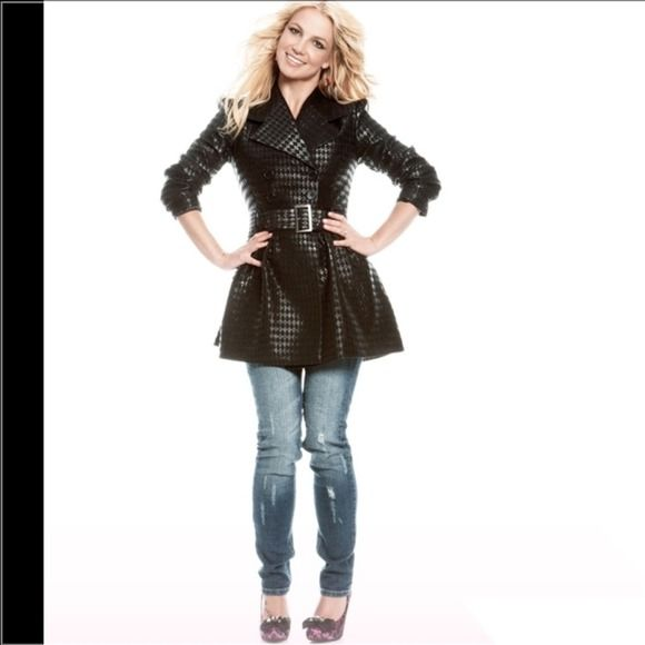 Candies by Britney Spears coat Black pea coat new without tags Candie's Jackets & Coats