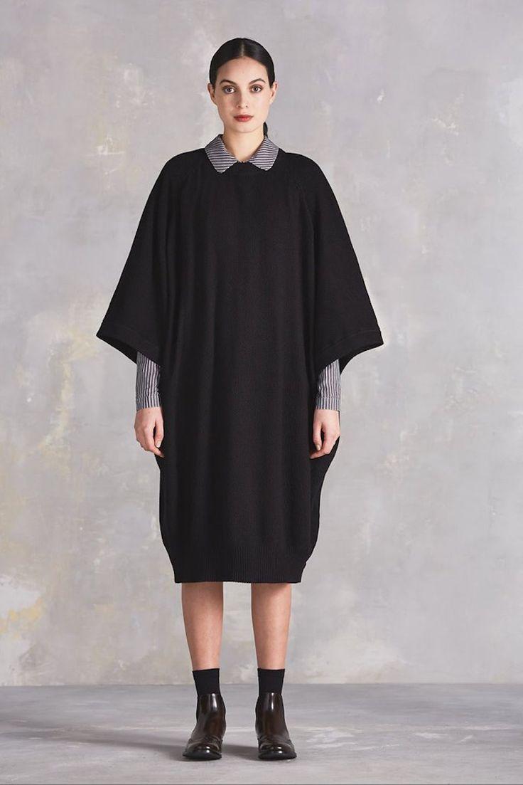 kowtow - Voyage Cape Dress | Black