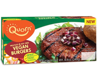 So excited to try this burger.  I <3 Quorn products :)