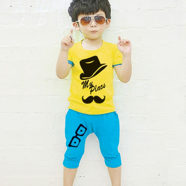 kids clothes summer style baby boys shirtpants sports tracksuit children outfits toddler boys clothing