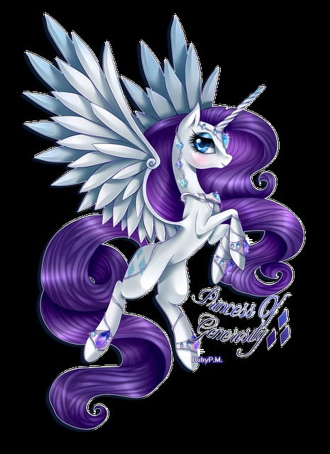 alicorn Princess Rarity! <3