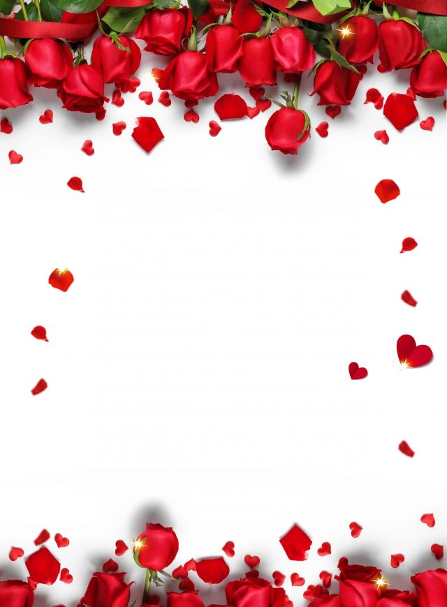 Romantic Chinese Valentines Day Red Rose Petals Background Design Valentine Background Chinese Valentines Chinese Valentine S Day