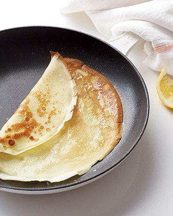 Simple Crepes | Martha Stewart Living - Crepes are easier to make than you think. Match these French street food staples with sweet or savory toppings and fillings.