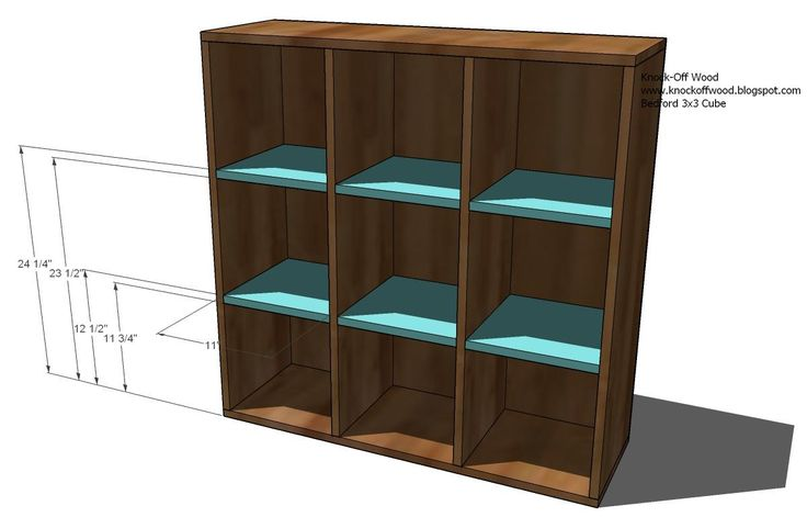 Modular Bookcase Building Plans Woodworking Projects Plans