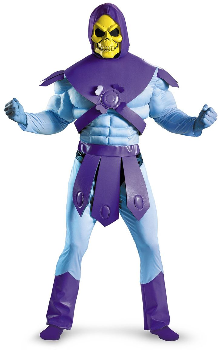 Masters Of The Universe - Skeletor Adult Costume from BuyCostumes.com