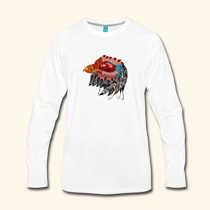 Eagle Tribal Totem - Men's Premium Long Sleeve T-Shirt