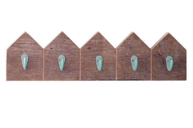 'Home sweet home' kinderkapstok | houten kapstokje | VanStoerHout