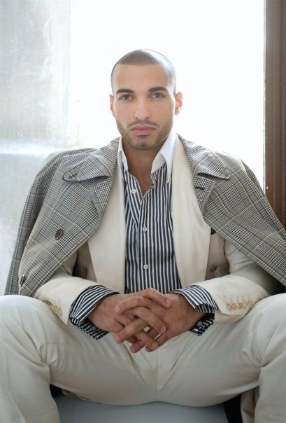 Haaz Sleiman. Again, something I'll never wear unless I have a private plane and a bentley to go with it, but it's an ultra cool look every young millionaire should try.