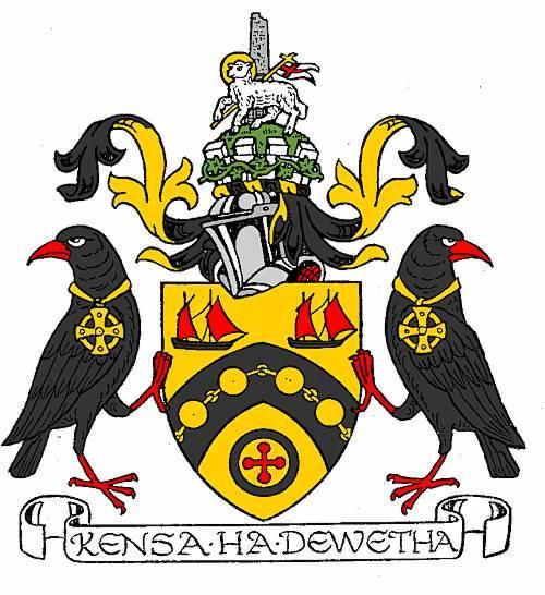 Civic heraldry of Penwith: the arms were officially granted on 12 February 1981.