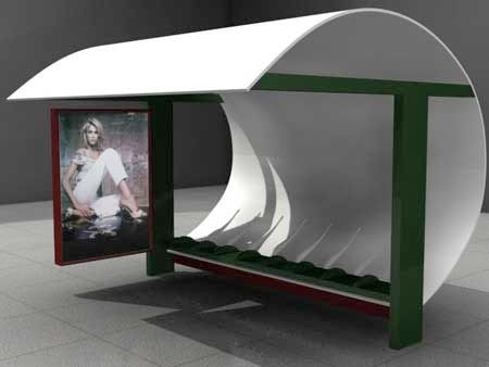 http://www.treehugger.com/sustainable-product-design/poetry-instead-of-advertising-graces-indianapolis-bus-shelters.html