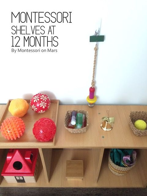 Montessori on Mars: Montessori Shelves at 12 Months                                                                                                                                                                                 More