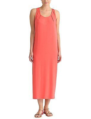 44 Inches (manufacturer Size: 44), Coral, Berydale Women's Maxi Dress NEW