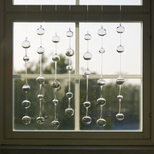 Kaj Franck Iittala Ateenan Aamu Glass Wind Chimes.  I can actually hear these deep inside my head.