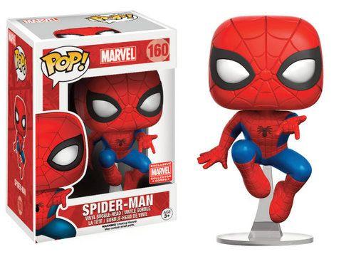 FIGURA POP MARVEL: SPIDERMAN LEAPING - SanvyStore - Tienda Online de Articulos de Regalo, Juguetes y Juegos de Mesa