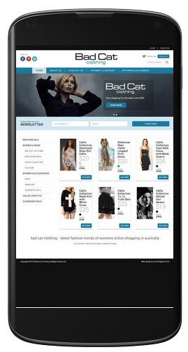 Badcat Clothing is an ecommerce website that offers RTW