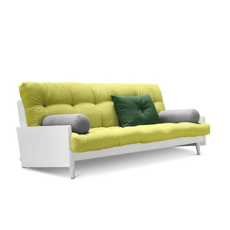 Karup Schlafsofa Indie Grün Stoff online kaufen bei | Sofa ...